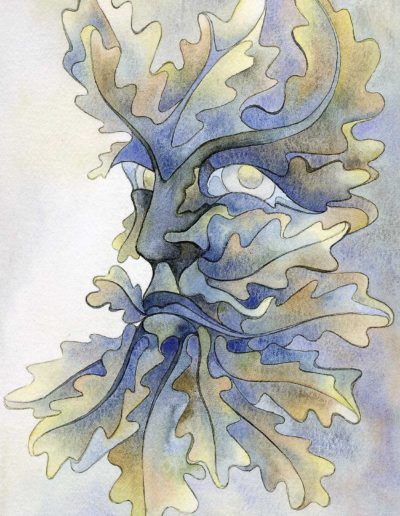 Autumn Mists Green Man 1999