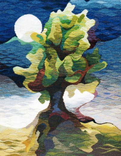 Oak in Moonlight 1999